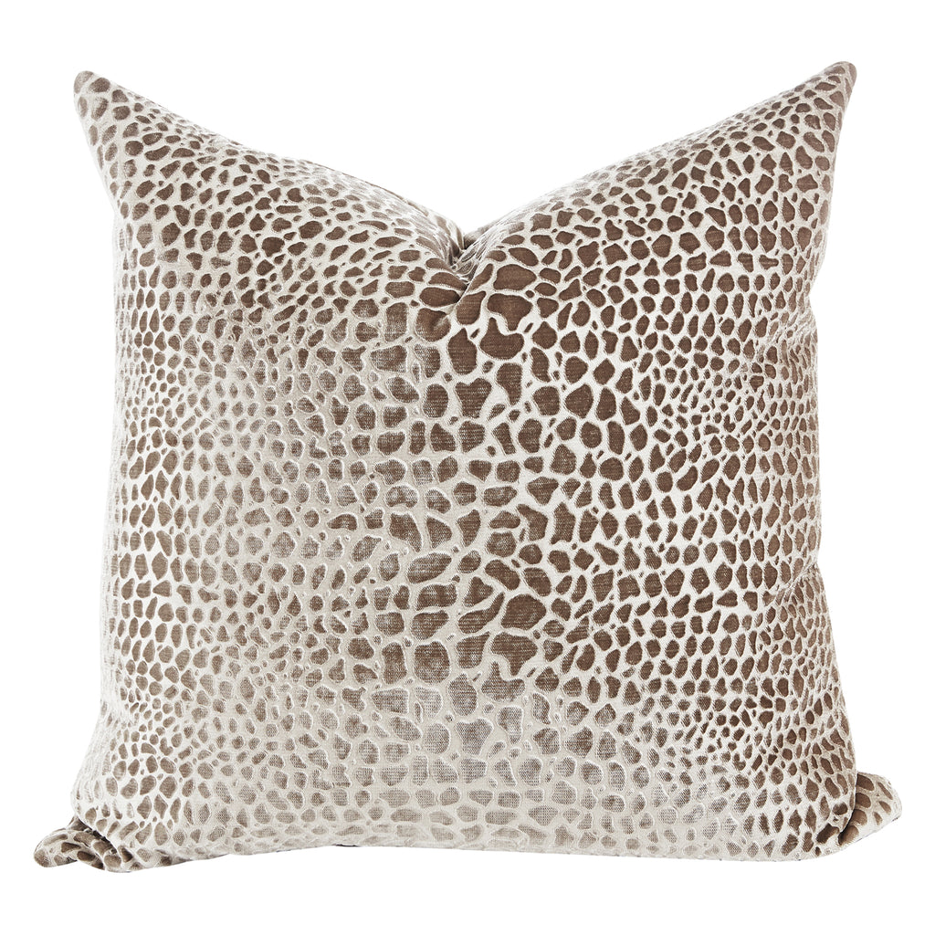 Aidan Gray Fawn No 2 Throw Pillow
