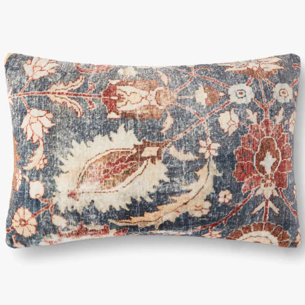 Loloi Floral Antique Throw Pillow Set of 2