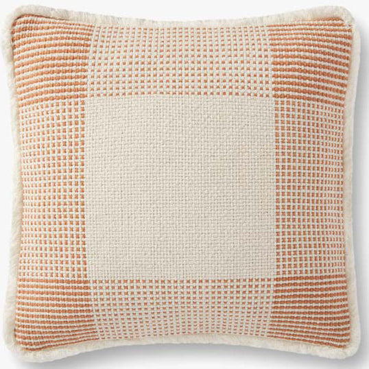 Loloi Plaid Janie Throw Pillow Set of 2