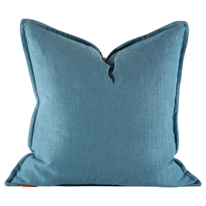 Aidan Gray Brim No 9 Slate Blue Throw Pillow