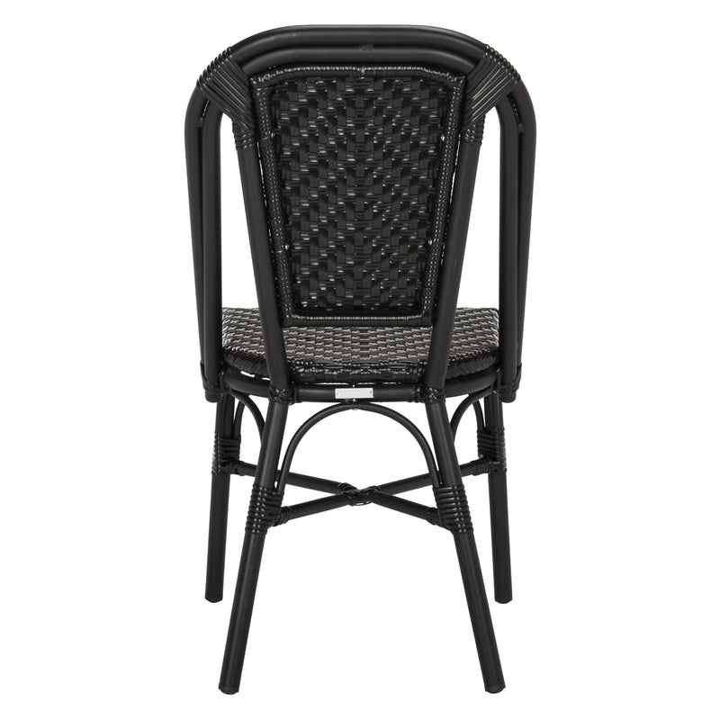 Avenue Outdoor Stacking Side Chair Set of 2