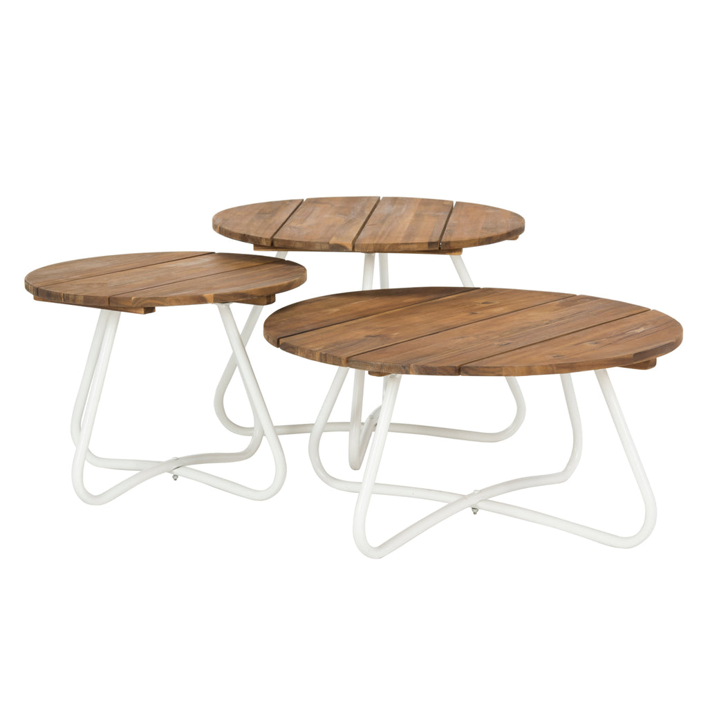 Porter Outdoor Coffee Table Set of 3