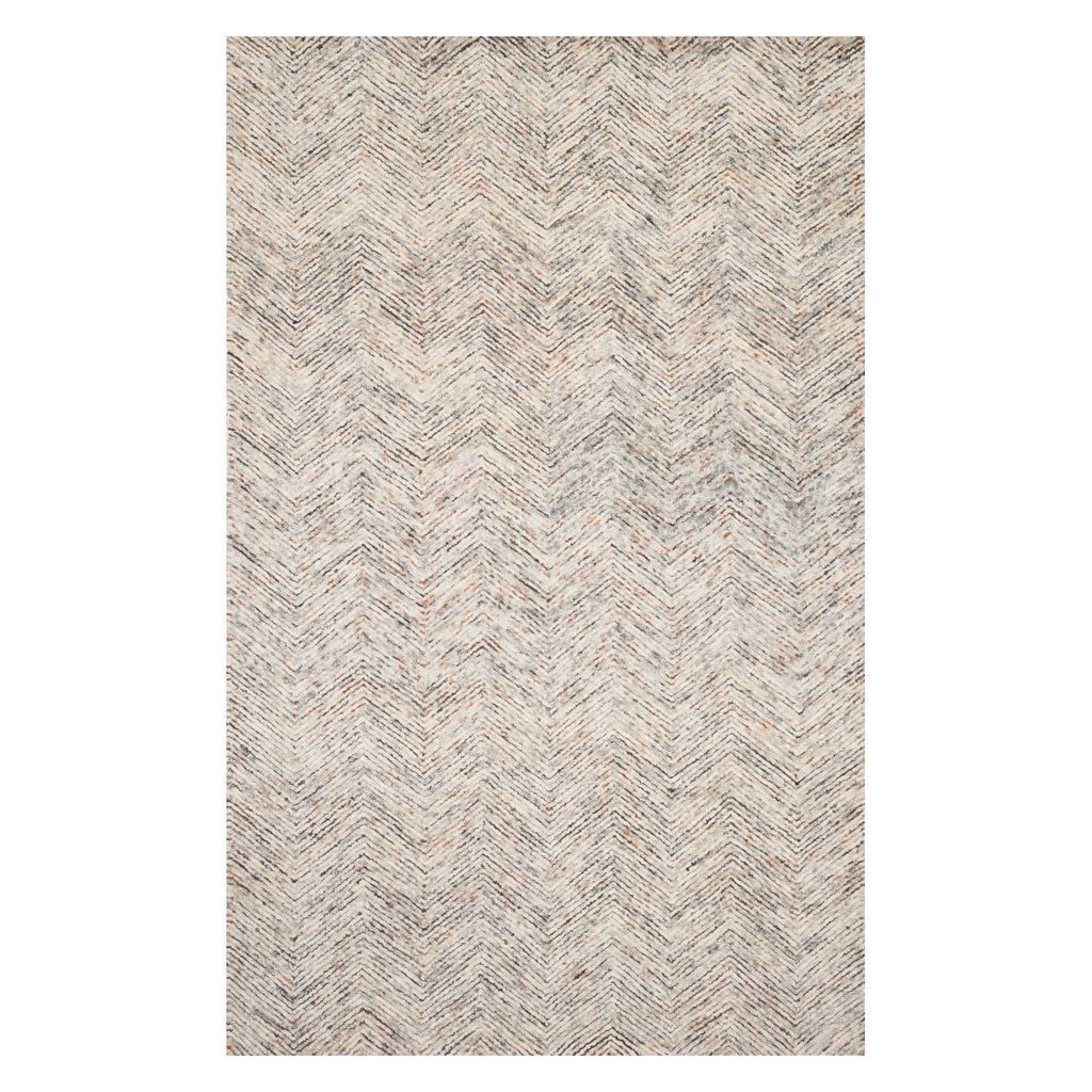 Loloi Peregrine Light Gray/Multi Hand Tufted Rug