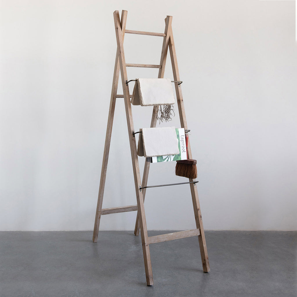 Forest Decorative Blanket Ladder