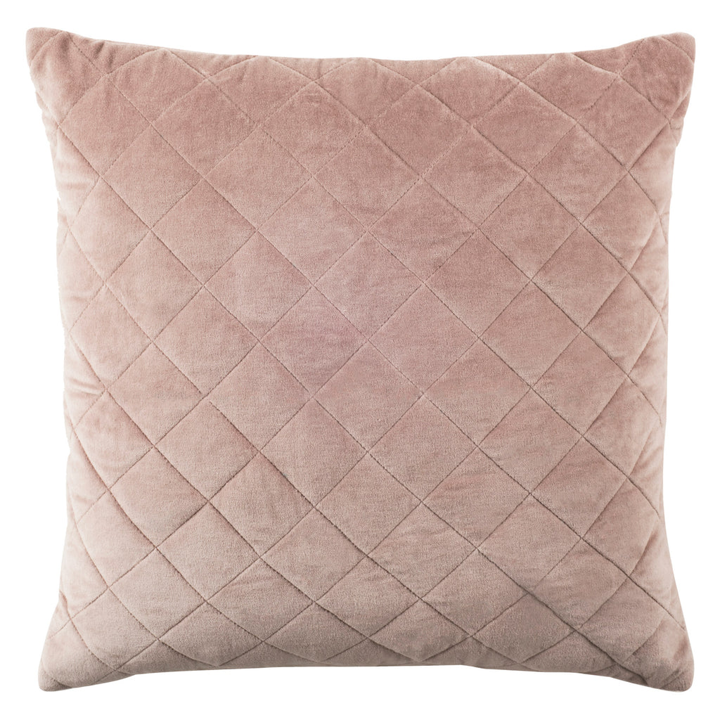 Rose Quilted Throw Pillow