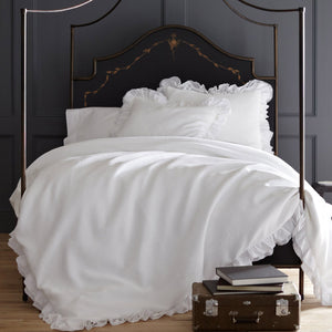 Peacock Alley Penelope Ruffled Duvet Cover