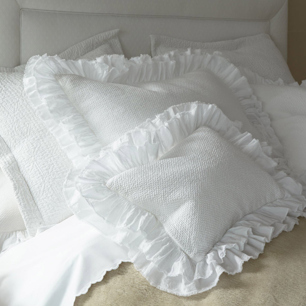 Peacock Alley Penelope Ruffled Pillow Sham