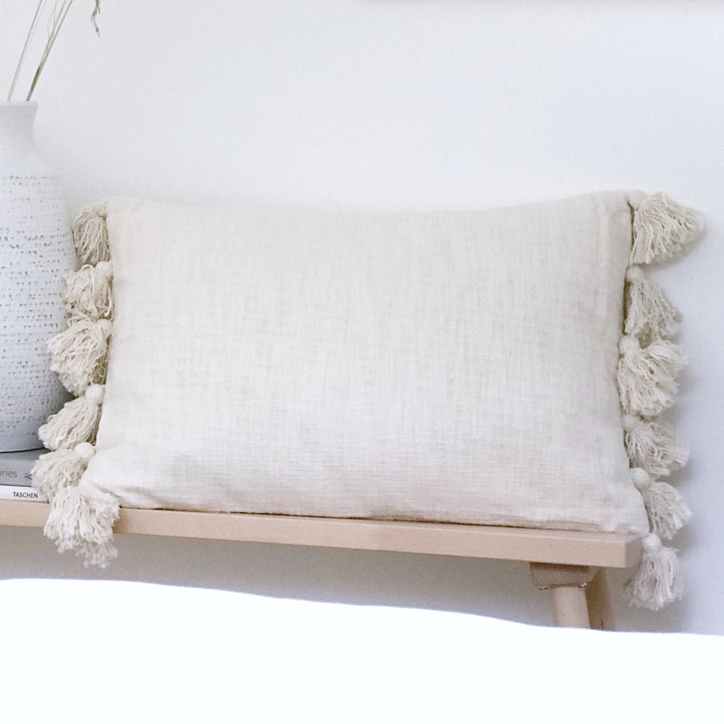 Wren Tassel Throw Pillow