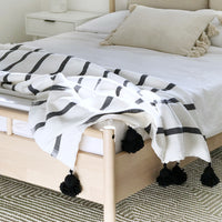 Renton Tassel Throw Blanket/Bed Cover