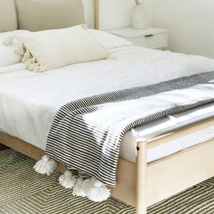 Hickory Tassel Throw Blanket/Bed Cover