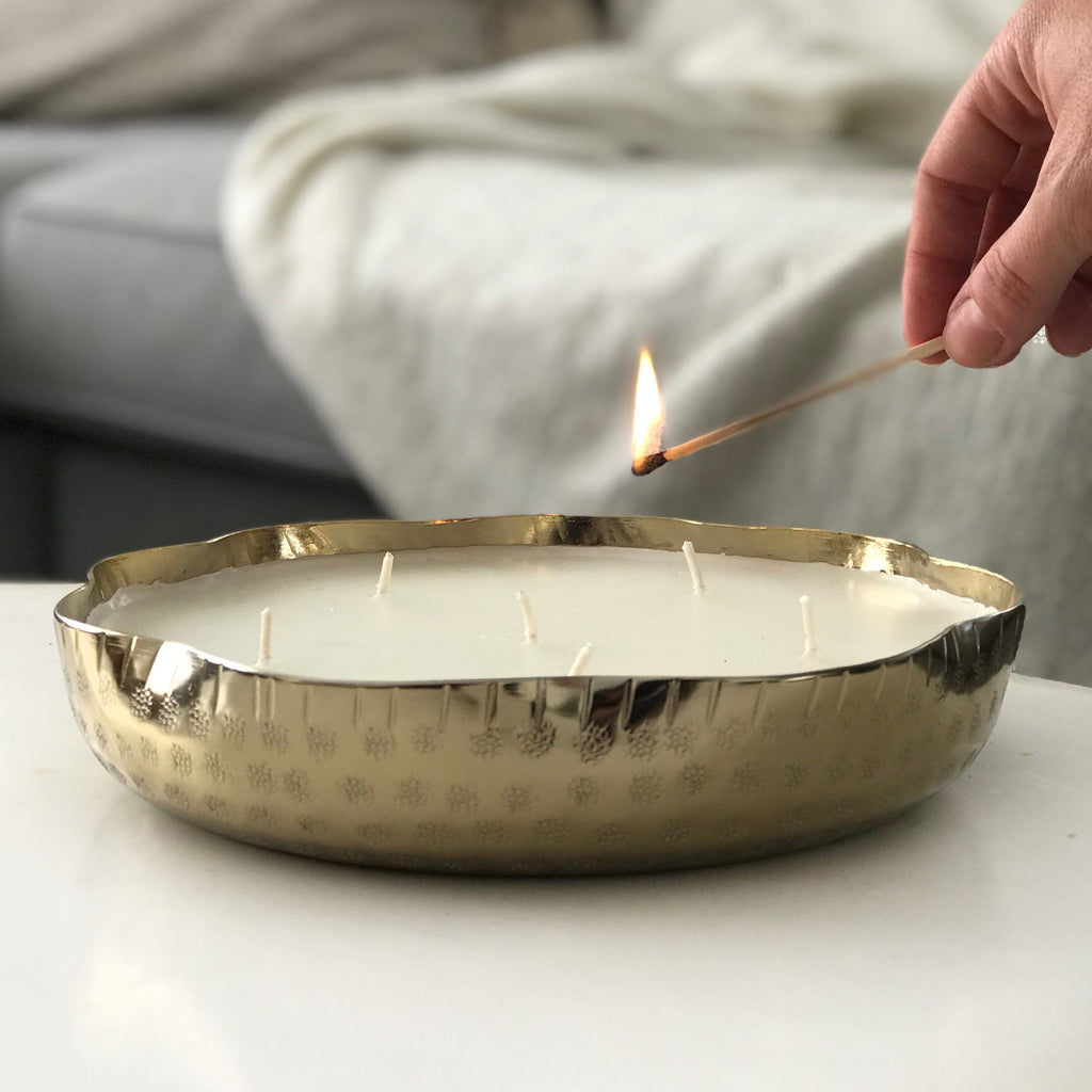 Xinca Poured Candle Tray