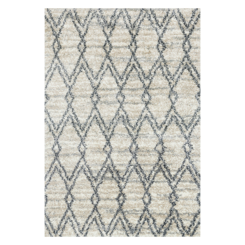 Loloi Quincy Sand/Graphite Power Loomed Rug