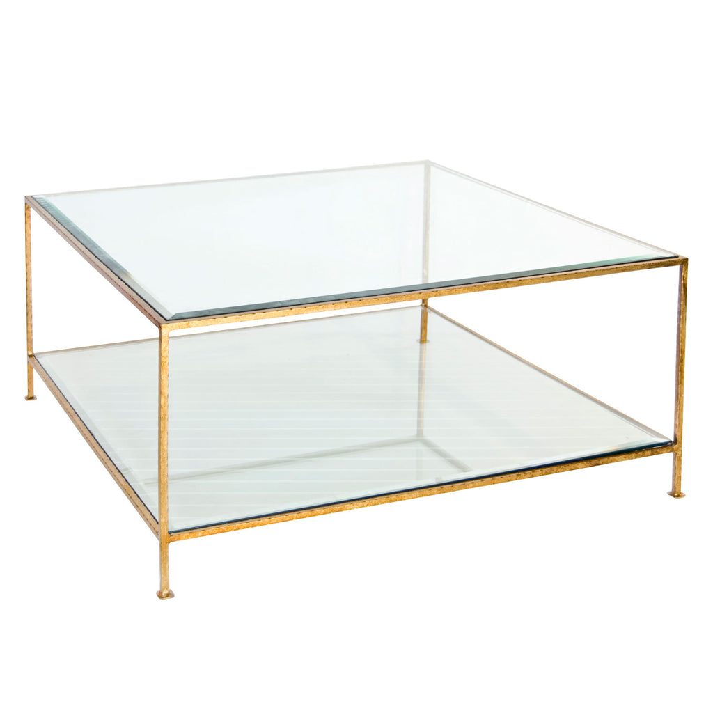 Worlds Away Quadro Coffee Table