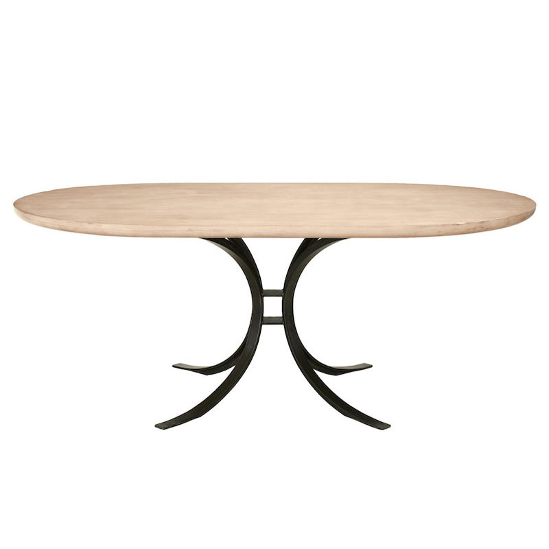 Redford House Quincy Oval Dining Table