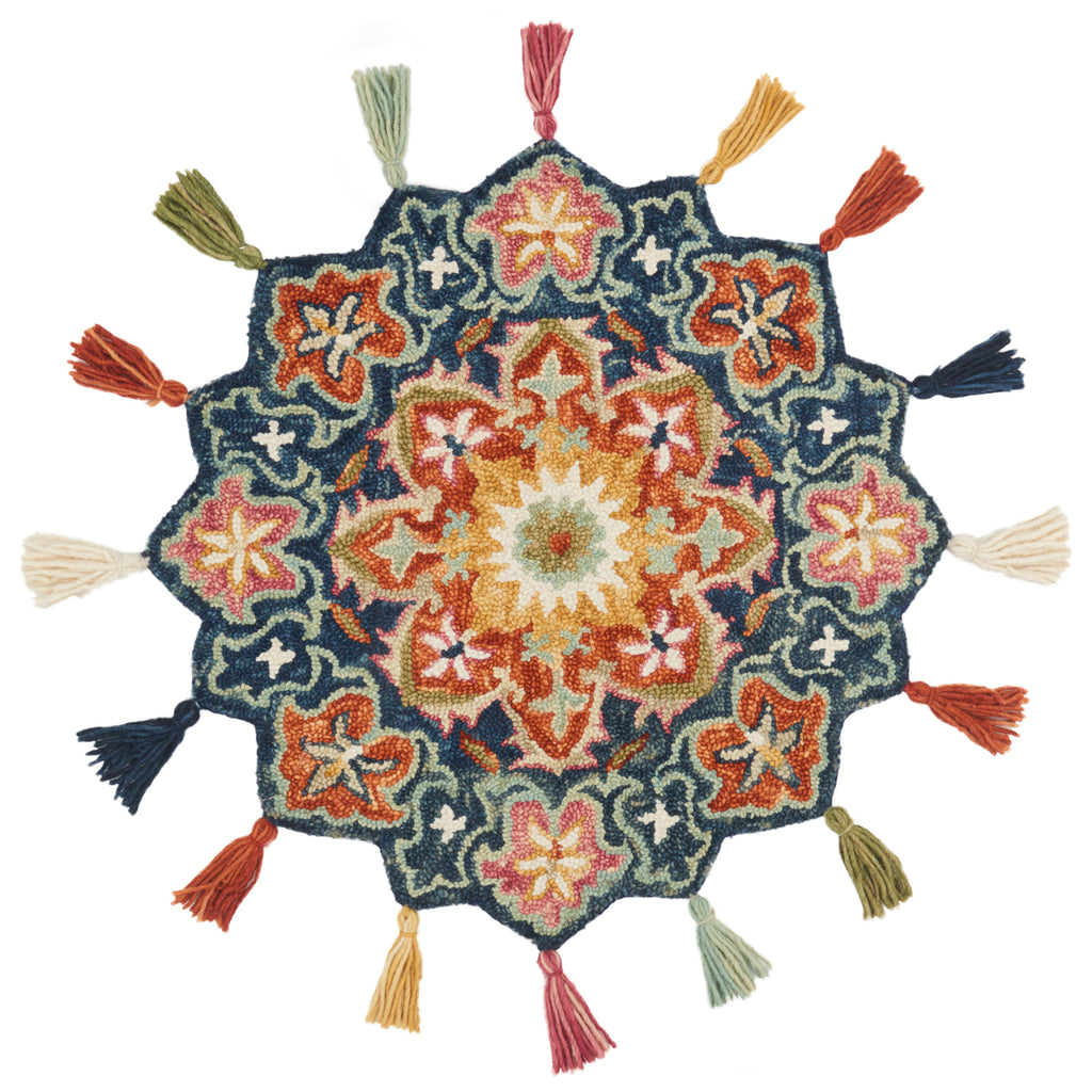 Loloi Remy Bloom Hooked Rug