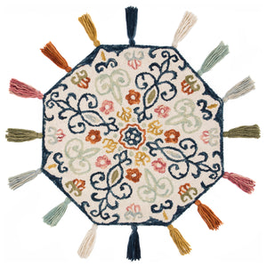 Loloi Remy Ivory/Multi Hooked Rug