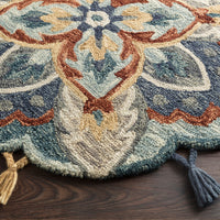 Loloi Remy Blue/Multi Hooked Rug