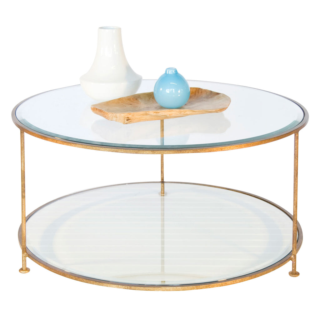 Worlds Away Rollo Coffee Table
