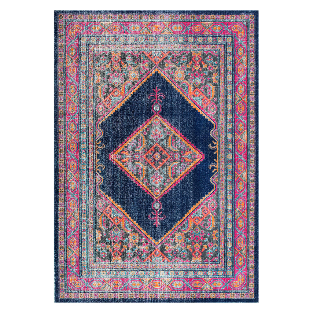 Muscogee Medallion Machine Made Rug