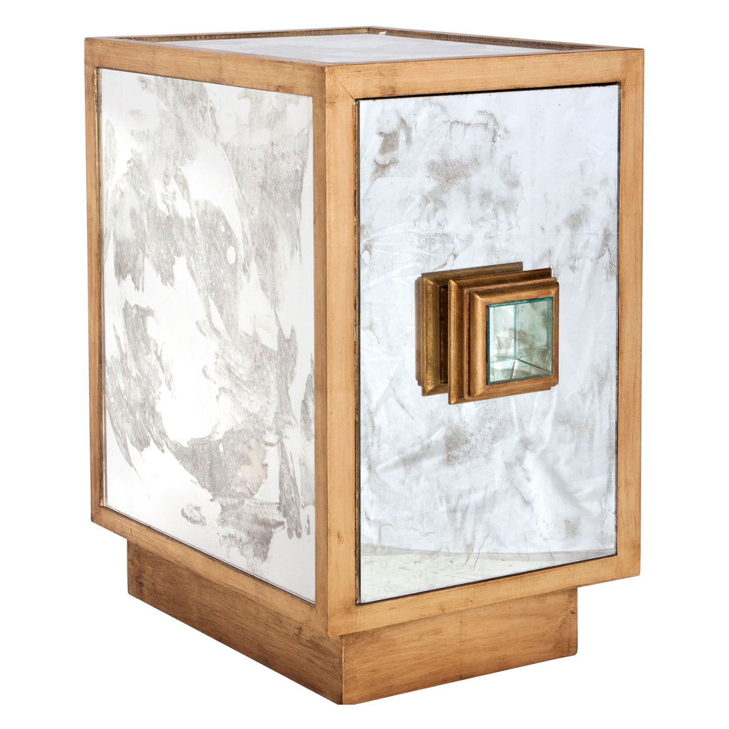 Worlds Away Savannah Side Table