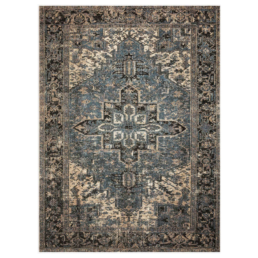 Loloi Sebastian Ocean/Midnight Power Loomed Rug