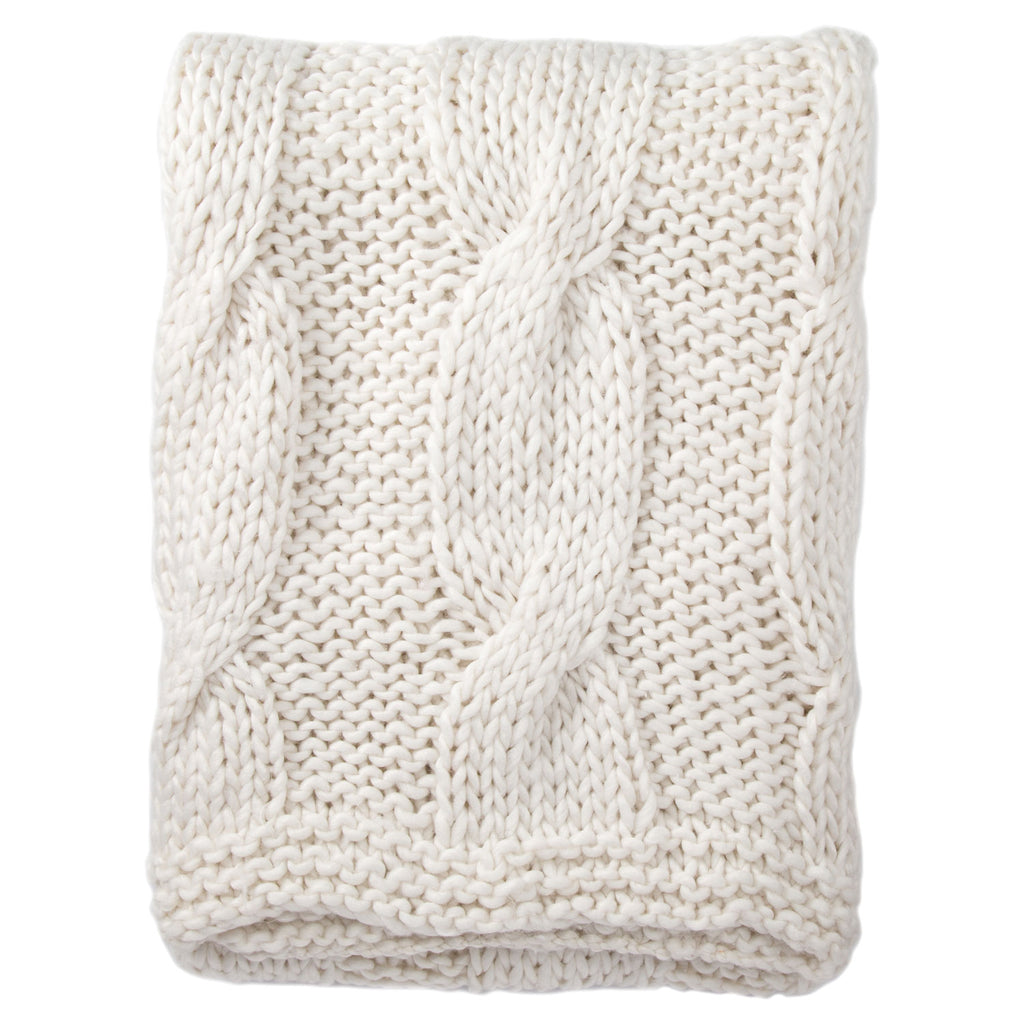 Jaipur Serin Cable Throw Blanket
