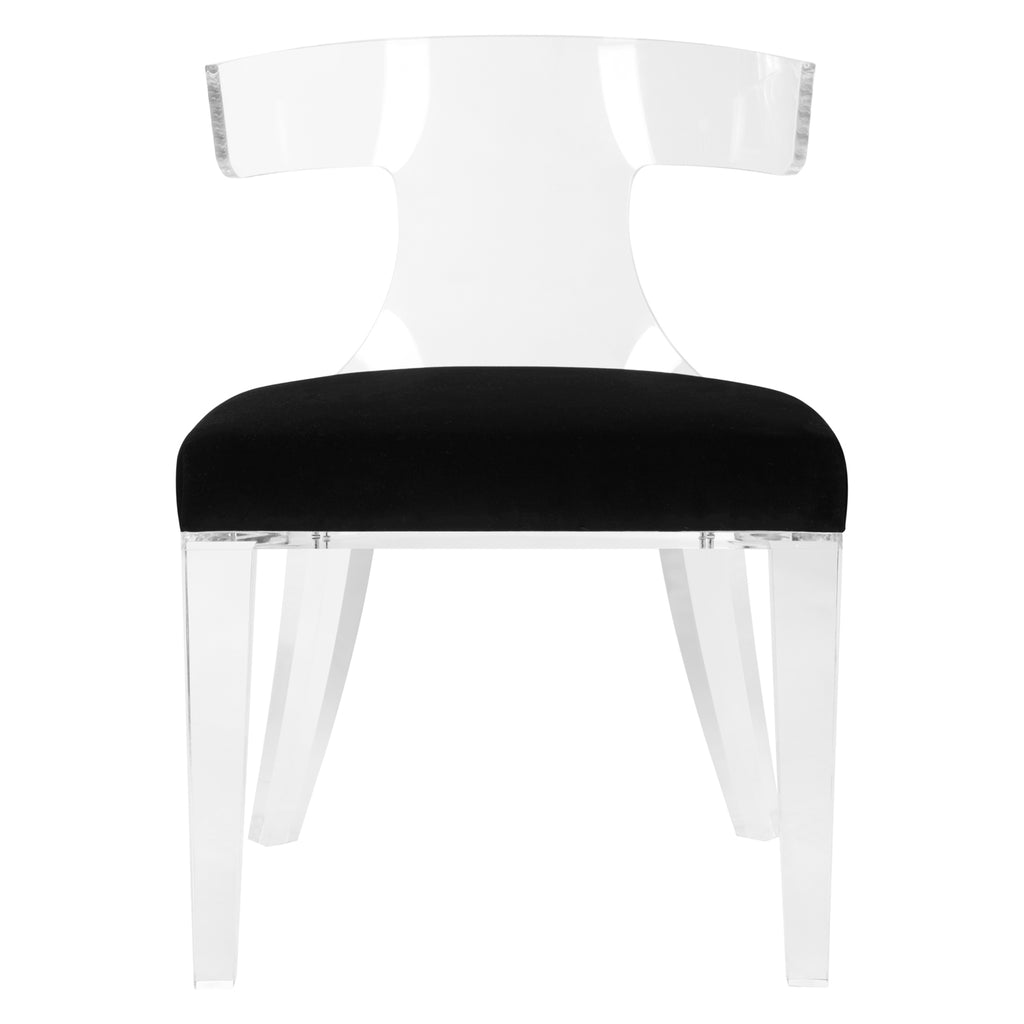 Rutherford Lucite Dining Chair