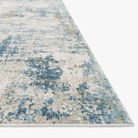 Loloi Sienne Gray/Blue Power Loomed Rug