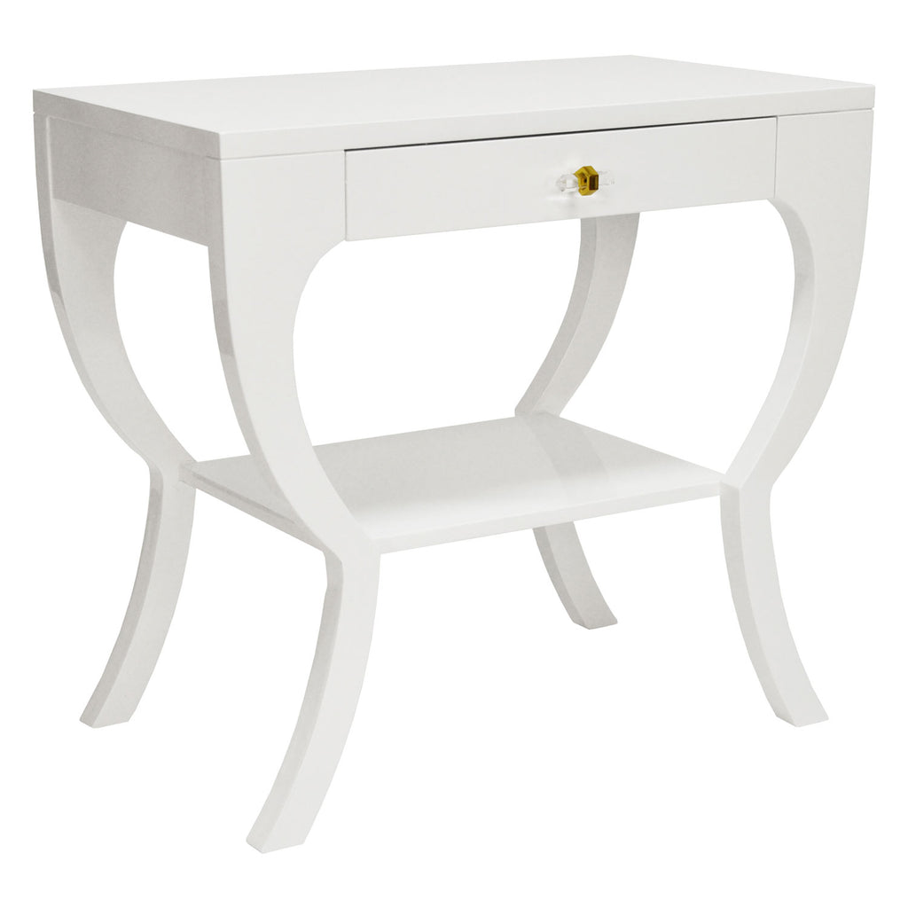 Worlds Away Sonya Side Table