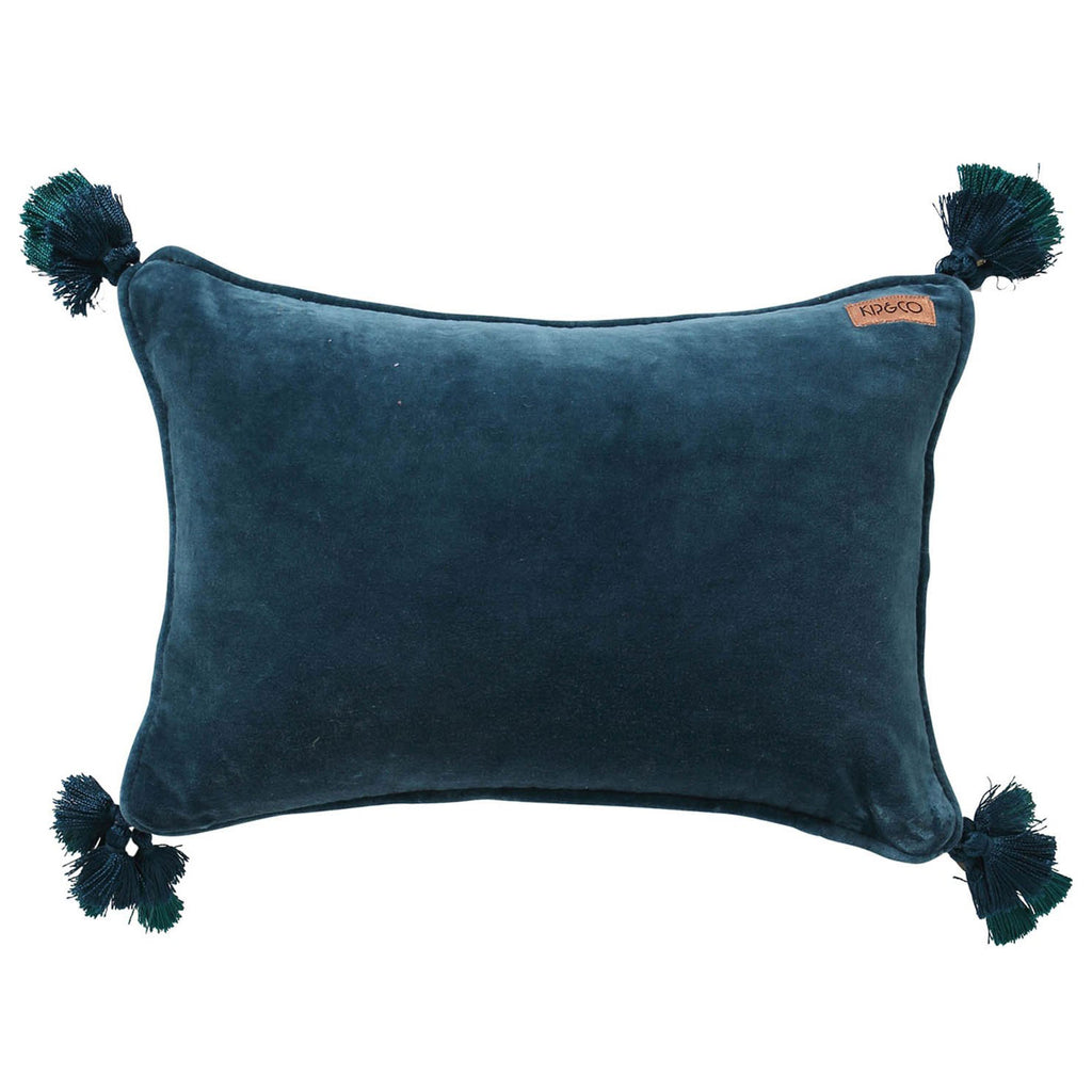 Kip & Co Teal Souk Throw Pillow