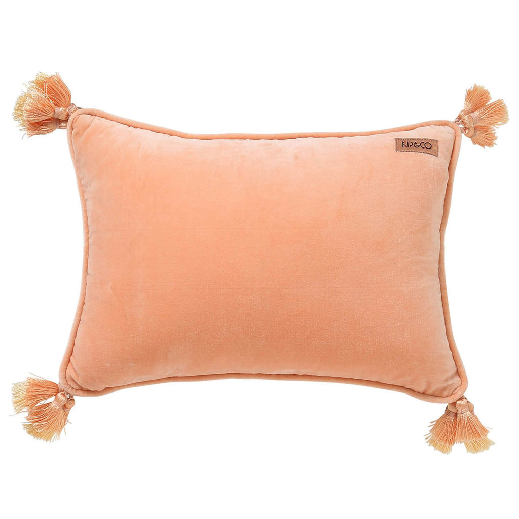 Kip & Co Apricot Souk Throw Pillow