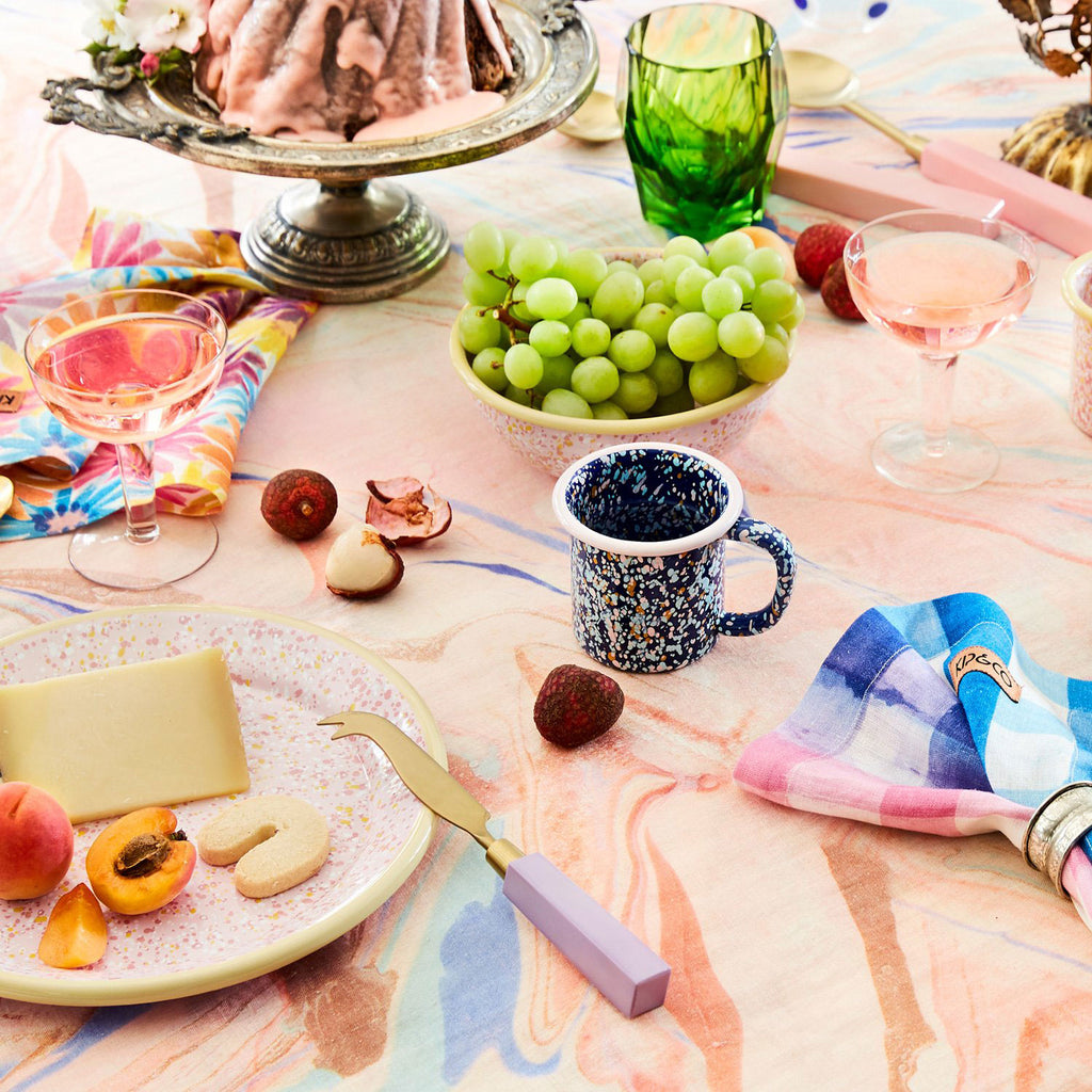 Kip & Co Marble Magic Tablecloth