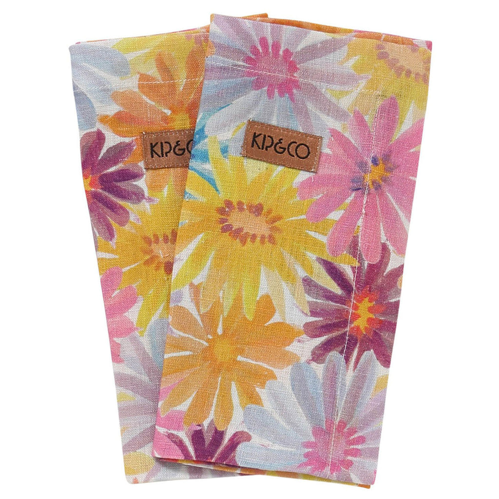 Kip & Co Petal Power Napkin Set of 6
