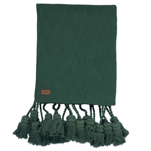 Kip & Co Tassel Throw Blanket