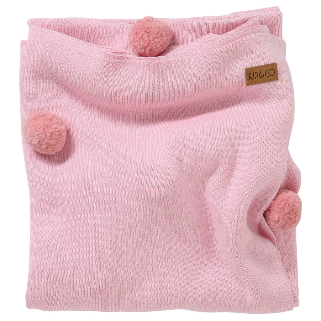 Kip & Co Pom Pom Candy Cotton Throw Blanket