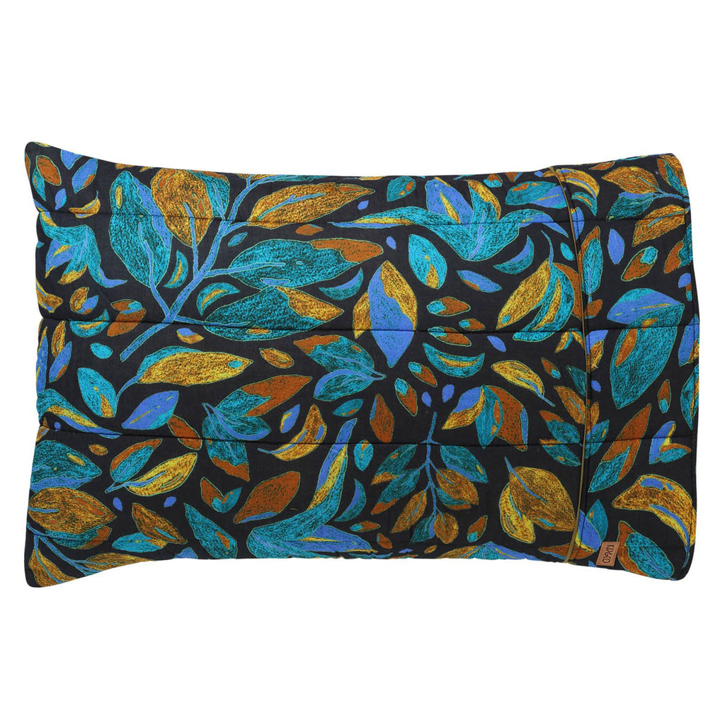 Kip & Co Falling Leaves Quilted Pillowcase Set of 2