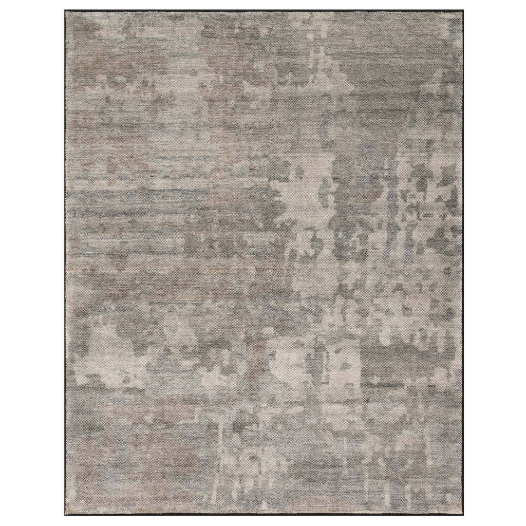 Loloi Sumi Neutral/Black Hand Knotted Rug