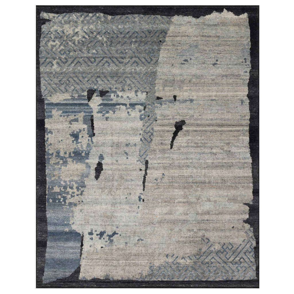 Loloi Sumi Mist/Onyx Hand Knotted Rug