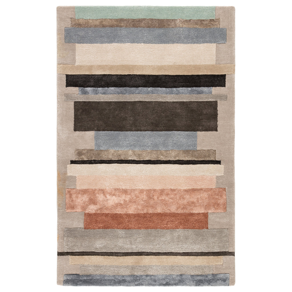 Jaipur Syntax Parallel Hand Tufted Rug