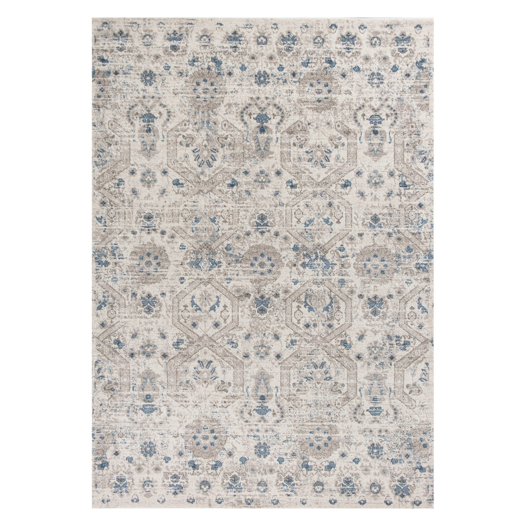 Seville Timeless Ivory Machine Made Rug