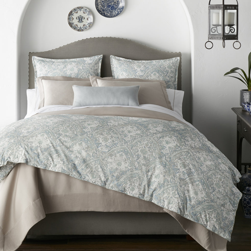 Peacock Alley Seville Percale Duvet Cover