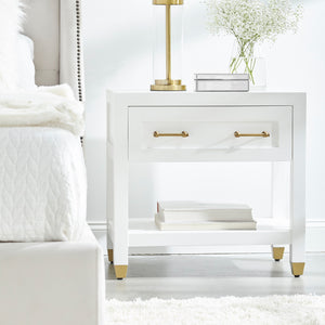 Stella 1-Drawer Nightstand
