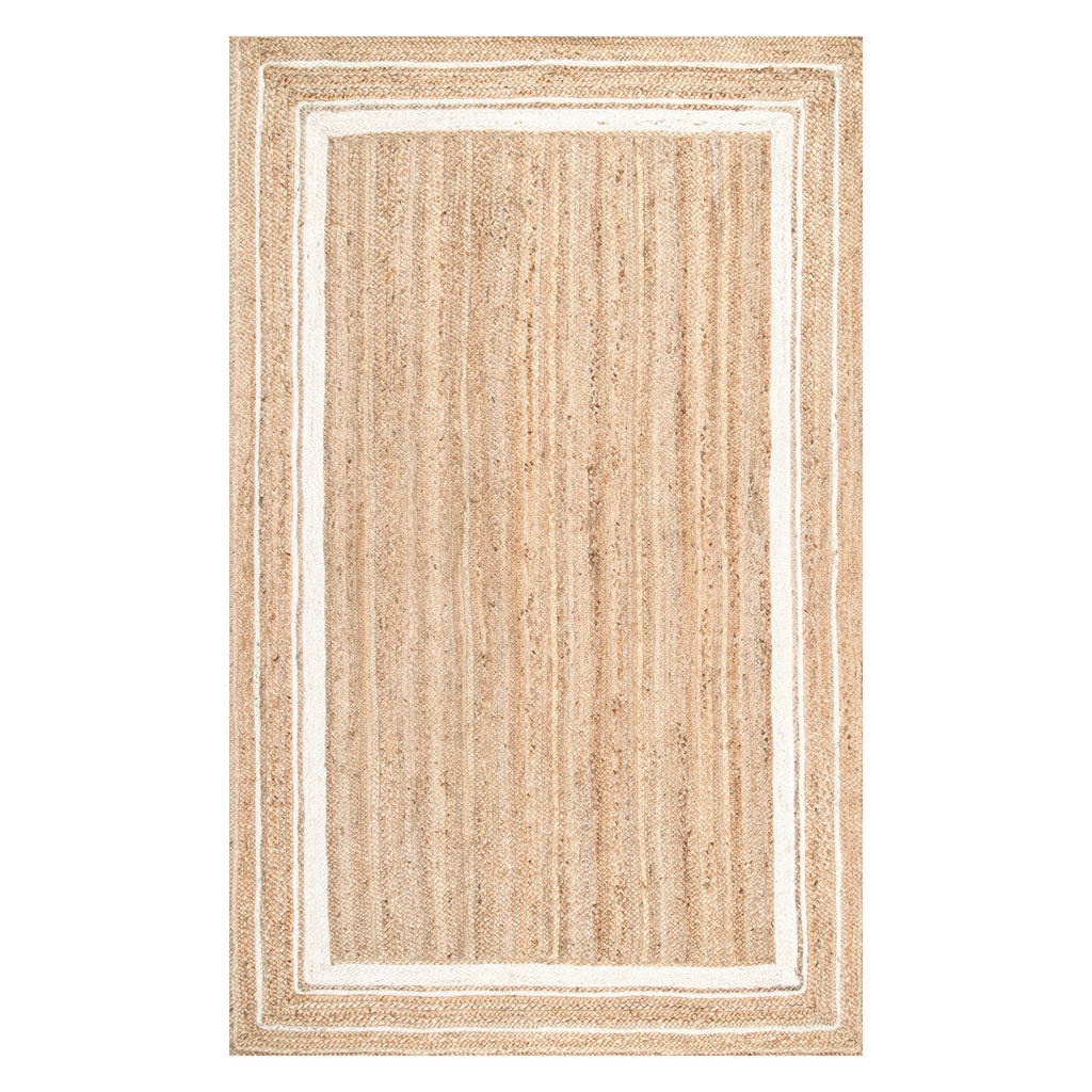 Haley Border Jute Flatweave Rug