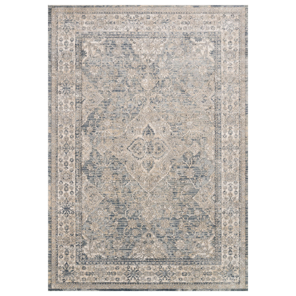 Loloi II Teagan Sky/Natural Power Loomed Rug