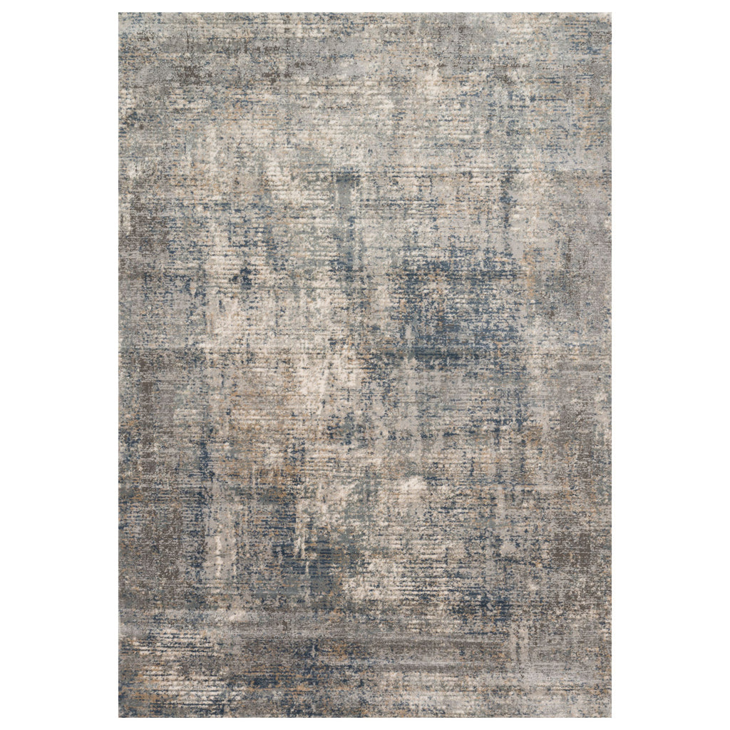 Loloi II Teagan Denim/Slate Power Loomed Rug