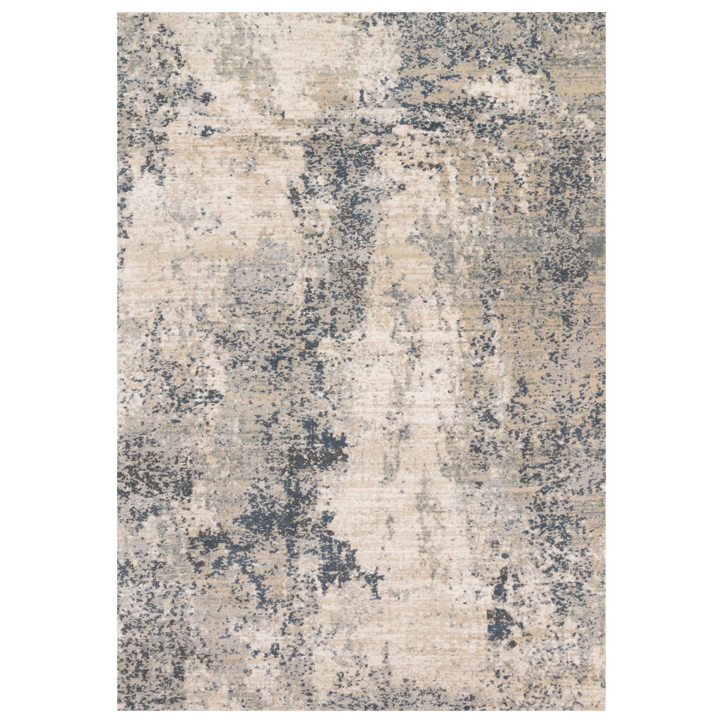 Loloi II Teagan Natural/Denim Power Loomed Rug