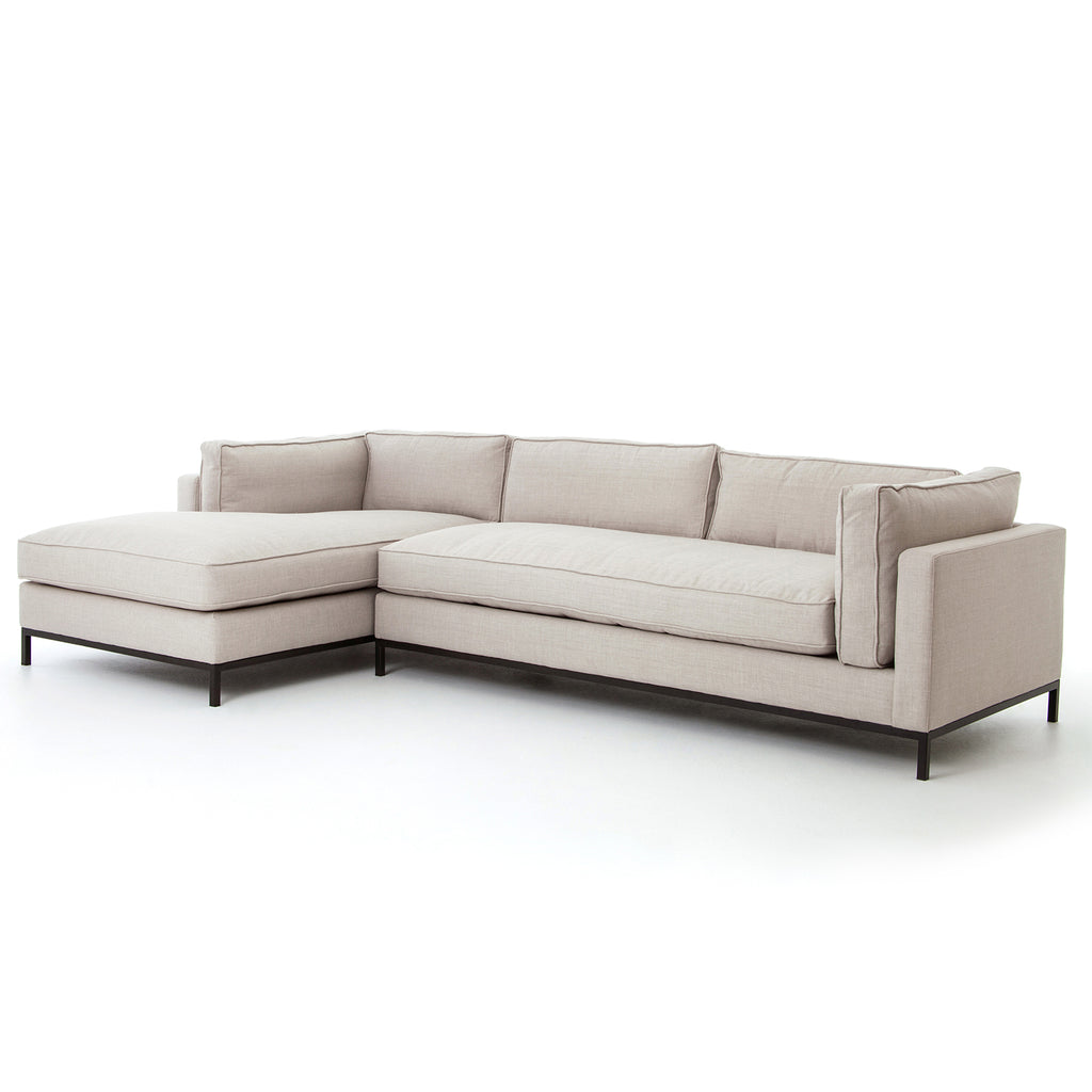 Four Hands Grammercy 2 Piece Left Sectional Sofa