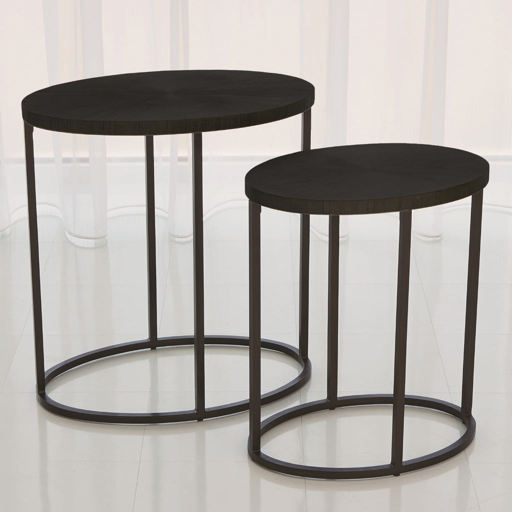 Studio A Striated Accent Table