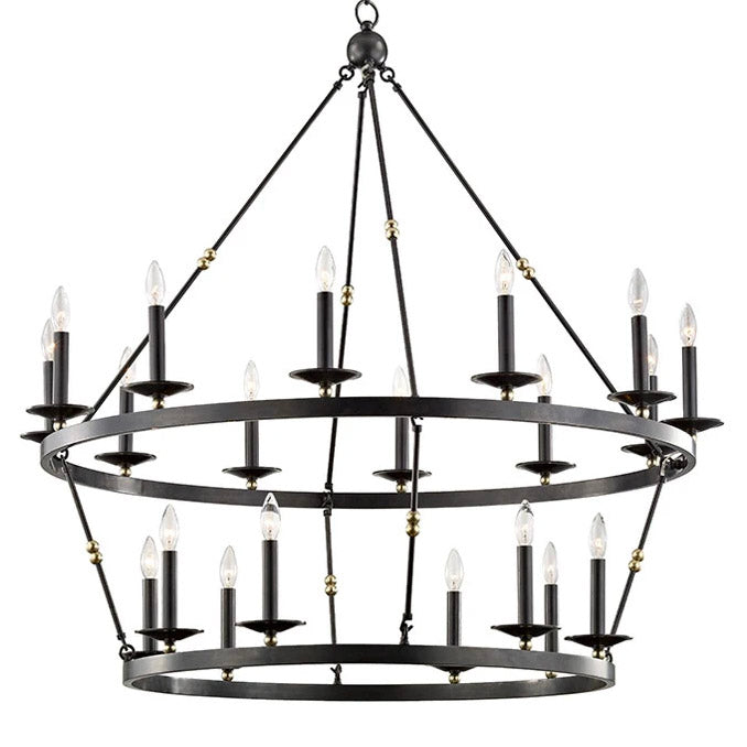 Hudson Valley Allendale Double Chandelier