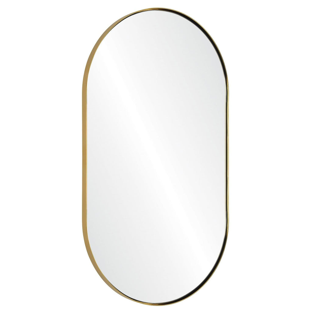 Mirror Image Home Rounded Wall Mirror